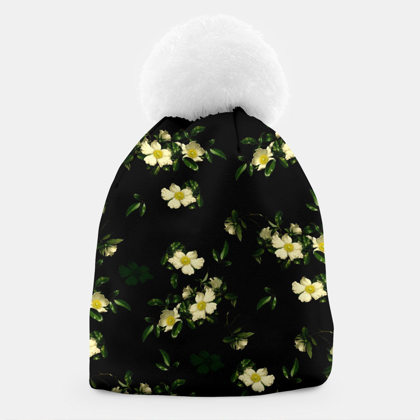 Image of Cherokee White Roses Beanie - Live Heroes