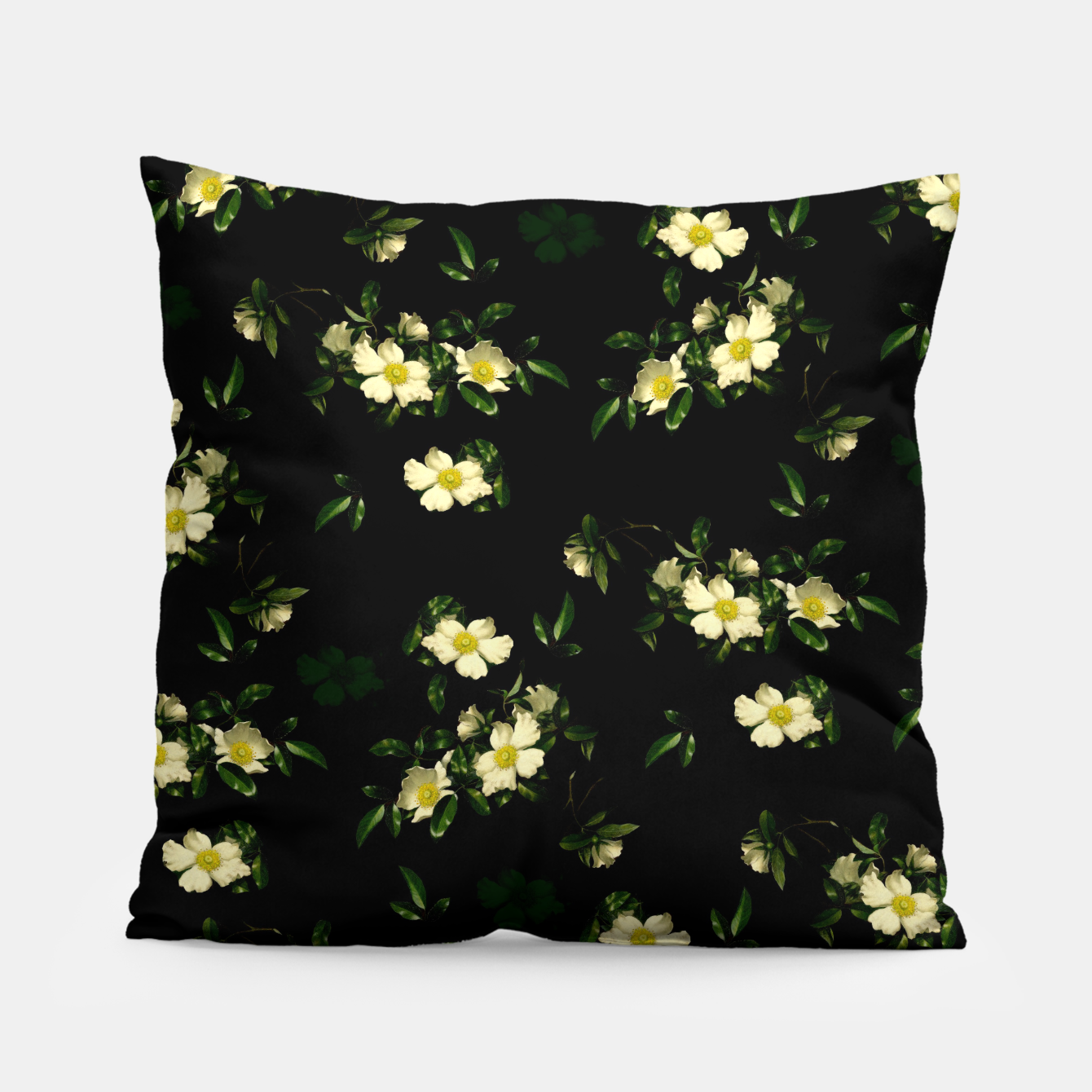 Image of Cherokee White Roses Pillow - Live Heroes