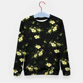 Thumbnail image of Cherokee White Roses Kid's Sweater, Live Heroes