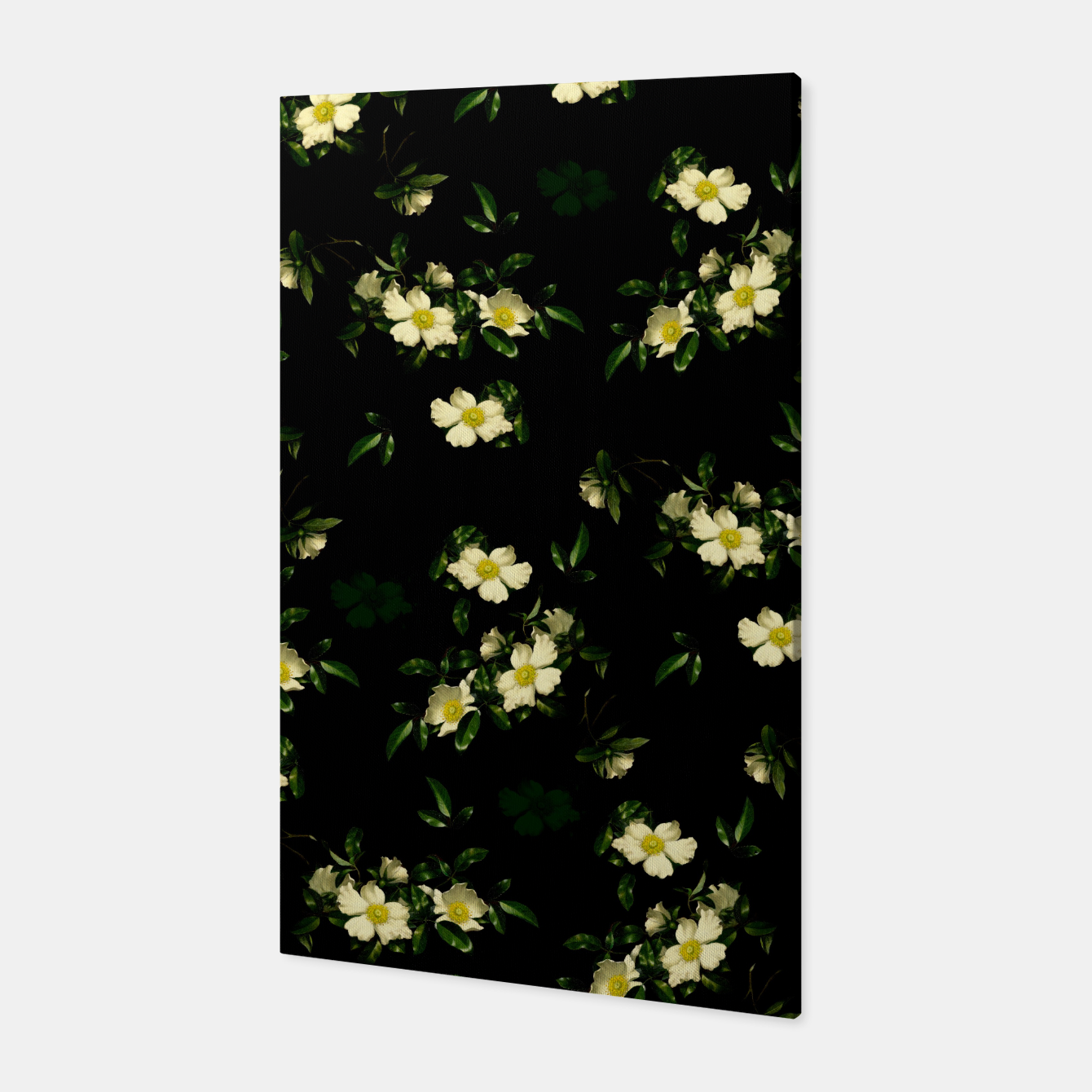 Image of Cherokee White Roses Canvas - Live Heroes