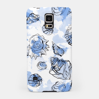 Imagen en miniatura de Seashells watercolor illustration  Samsung Case, Live Heroes