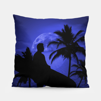 Thumbnail image of Twilight Longboard Surfer Dude Pillow, Live Heroes
