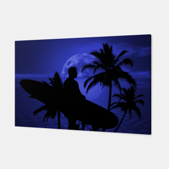 Thumbnail image of Twilight Longboard Surfer Dude Canvas, Live Heroes