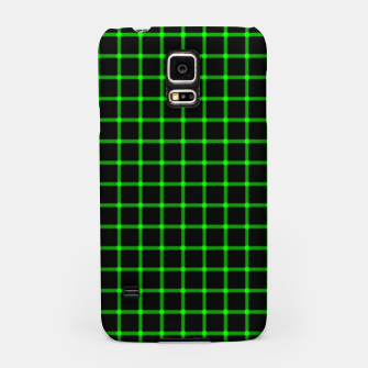 Thumbnail image of Neon Green Magic Grid Dont Enter the Matrix - Wear It  Samsung Case, Live Heroes