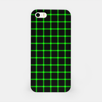 Thumbnail image of Neon Green Magic Grid Dont Enter the Matrix - Wear It  iPhone Case, Live Heroes