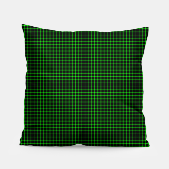 Thumbnail image of Neon Green Magic Grid Dont Enter the Matrix - Wear It  Pillow, Live Heroes