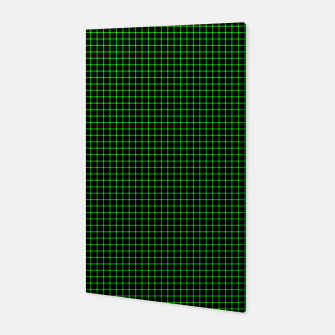 Thumbnail image of Neon Green Magic Grid Dont Enter the Matrix - Wear It  Canvas, Live Heroes