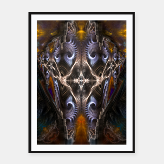 Thumbnail image of Archive Portal KM1113141311 Framed poster, Live Heroes