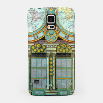 Thumbnail image of Nouveau Monde Old Cartographic Maps Samsung Case, Live Heroes