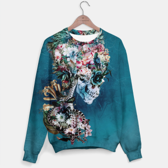 Thumbnail image of Floral Skull RP Sweater, Live Heroes