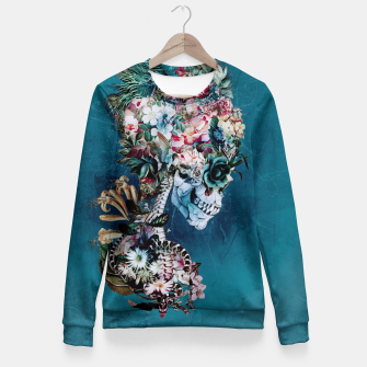 Thumbnail image of Floral Skull RP Fitted Waist Sweater, Live Heroes