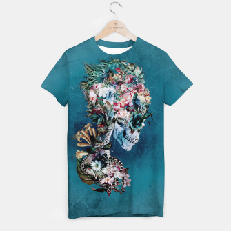 Thumbnail image of Floral Skull RP T-shirt, Live Heroes