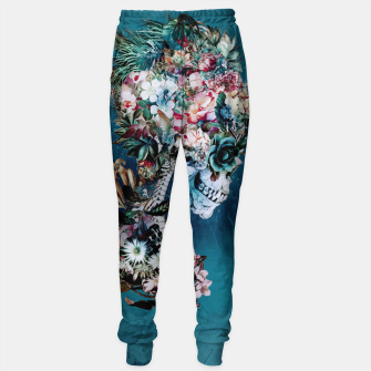 Thumbnail image of Floral Skull RP Sweatpants, Live Heroes