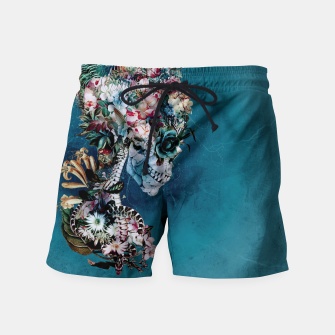 Thumbnail image of Floral Skull RP Swim Shorts, Live Heroes