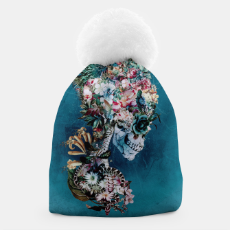 Thumbnail image of Floral Skull RP Beanie, Live Heroes