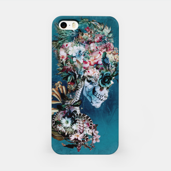 Thumbnail image of Floral Skull RP iPhone Case, Live Heroes