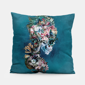 Thumbnail image of Floral Skull RP Pillow, Live Heroes