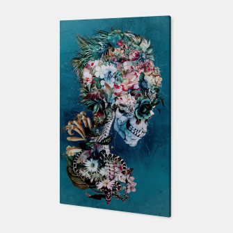 Miniaturka Floral Skull RP Canvas, Live Heroes