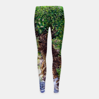 Thumbnail image of Treasure Girl's Leggings, Live Heroes