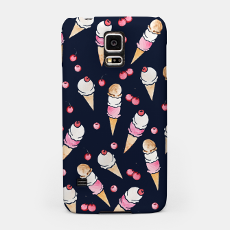 Thumbnail image of Ice Cream Cones with Cherry on top Samsung Case, Live Heroes