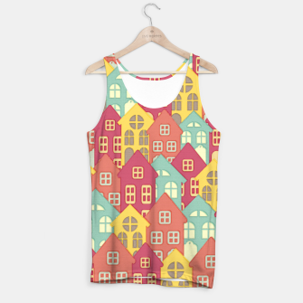 Miniaturka Town Houses Tank Top, Live Heroes
