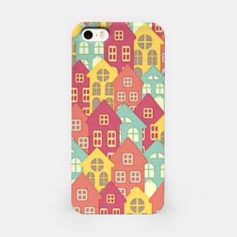 Miniaturka Town Houses iPhone Case, Live Heroes
