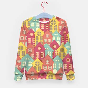 Miniaturka Town Houses Kid's Sweater, Live Heroes