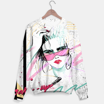 Miniatur make-up Sweatshirt, Live Heroes