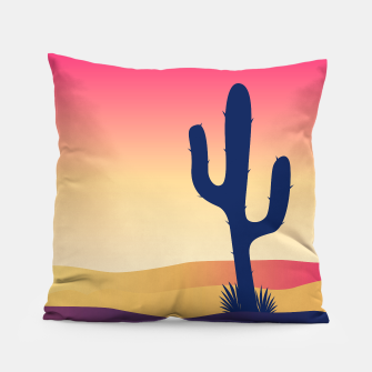 Thumbnail image of Luxury Designers Pillow : Dessert cacktus Plant, Live Heroes