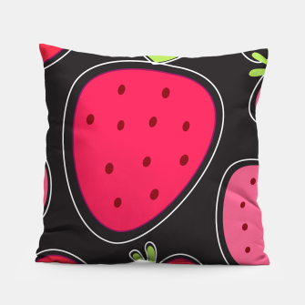 Thumbnail image of ART PILLOW RED WILD BERRIES II, Live Heroes