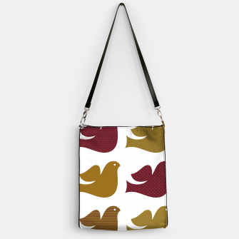 Thumbnail image of Handbag with Brown Doves : Original Art, Live Heroes