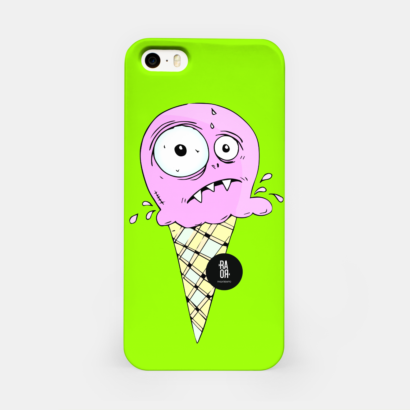 Image of cream iPhone Case - Live Heroes