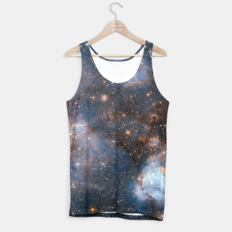 Thumbnail image of The Nebula - Red and Orange Space Nebulae Tank Top, Live Heroes