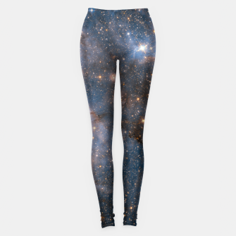 Thumbnail image of The Nebula - Red and Orange Space Nebulae Leggings, Live Heroes