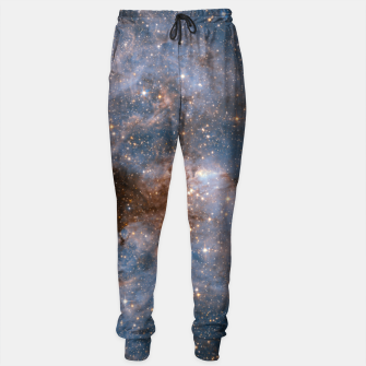 Thumbnail image of The Nebula - Red and Orange Space Nebulae Cotton sweatpants, Live Heroes