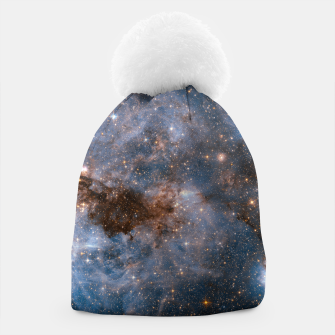 Thumbnail image of The Nebula - Red and Orange Space Nebulae Beanie, Live Heroes