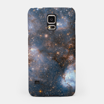 Thumbnail image of The Nebula - Red and Orange Space Nebulae Samsung Case, Live Heroes