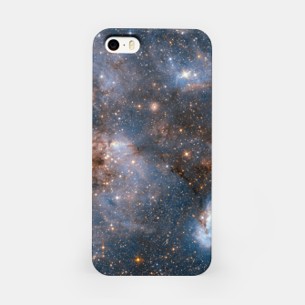 Thumbnail image of The Nebula - Red and Orange Space Nebulae iPhone Case, Live Heroes