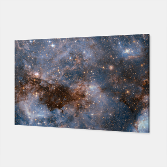 Thumbnail image of The Nebula - Red and Orange Space Nebulae Canvas, Live Heroes