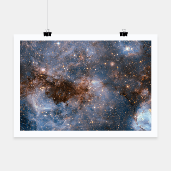 Thumbnail image of The Nebula - Red and Orange Space Nebulae Poster, Live Heroes