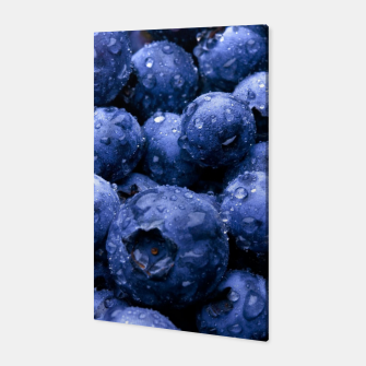 Thumbnail image of blueberries Canvas, Live Heroes