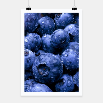 Thumbnail image of blueberries Plakat, Live Heroes