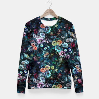 Thumbnail image of Night Garden Fitted Waist Sweater, Live Heroes