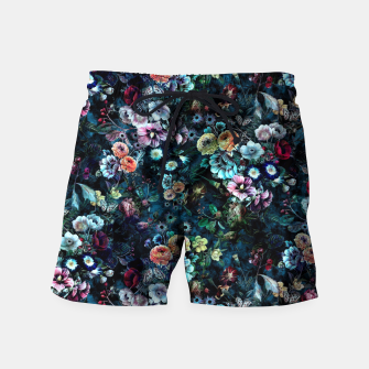 Thumbnail image of Night Garden Swim Shorts, Live Heroes