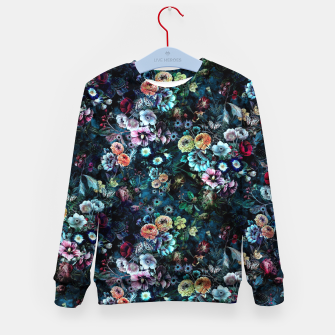 Thumbnail image of Night Garden Kid's Sweater, Live Heroes