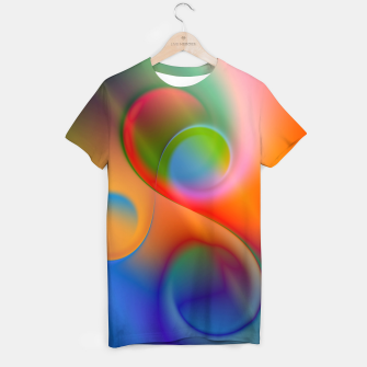 Thumbnail image of the sound of colors -2- T-shirt, Live Heroes