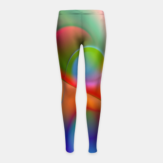 Thumbnail image of the sound of colors -2- Girl's Leggings, Live Heroes