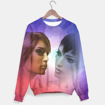 Thumbnail image of girlfriends Sweater, Live Heroes