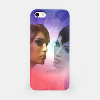 Thumbnail image of girlfriends iPhone Case, Live Heroes