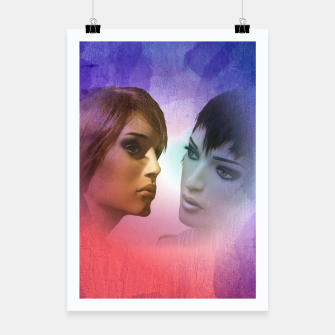 Thumbnail image of girlfriends Poster, Live Heroes